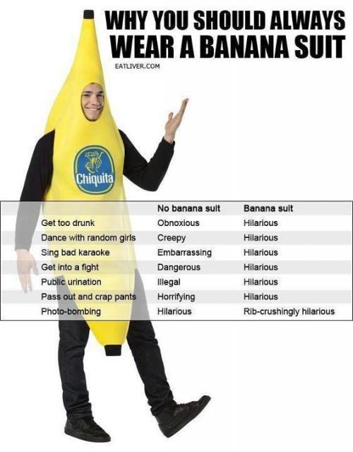 Bananna suit