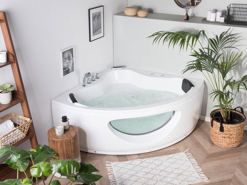 massage badewanne tocoa weiss 140 cm ch