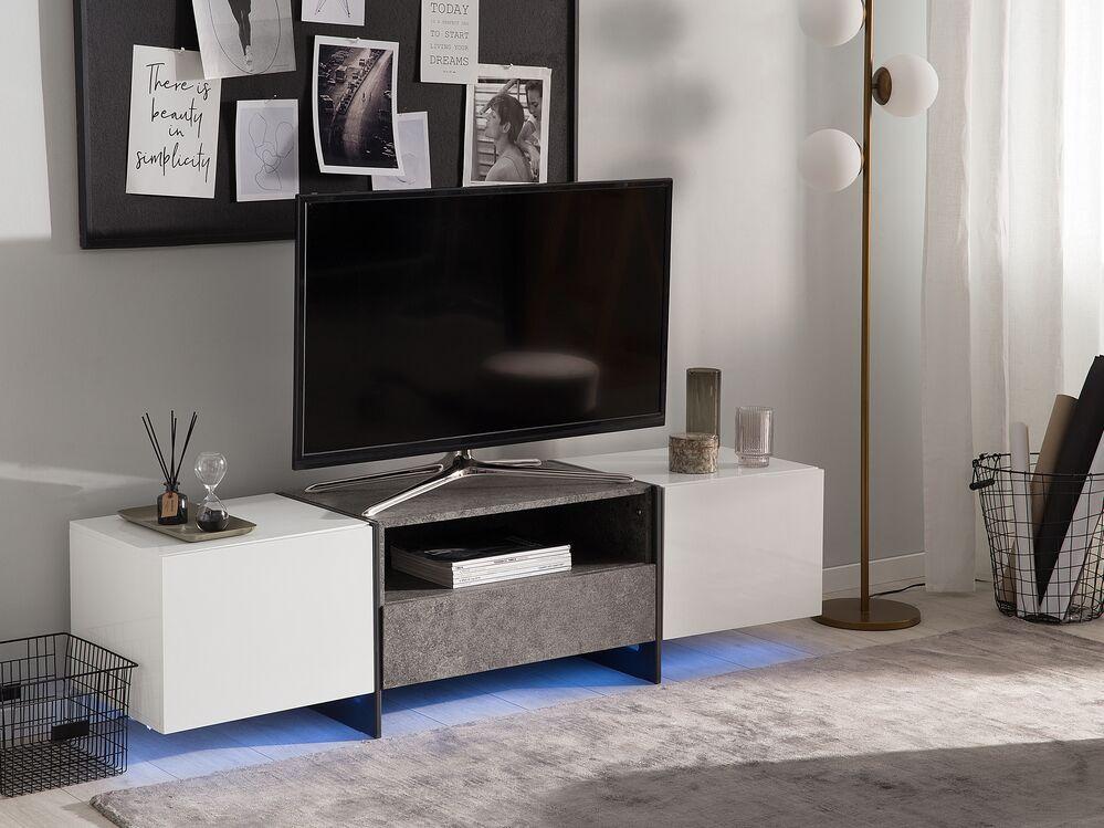 tv mobel russel weiss grau betonoptik ch