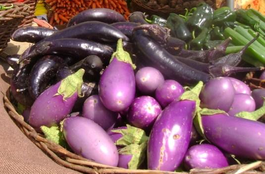 display eggplant
