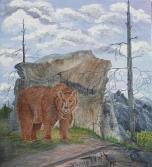 Mountain Home 18x16 Canvas