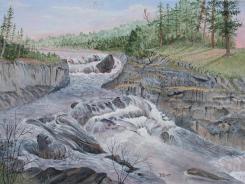 Cascades 12x16 Canvas