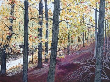 Sutton Road 12x16 Canvas (SOLD)