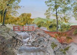 Highland Trails 12x16 Canvas