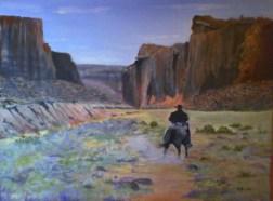 Range Rider 12x16 Canvas