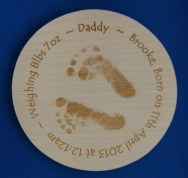 engraved wooden coaster13
