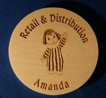 engraved wooden coaster14