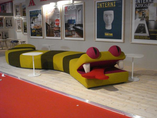 interni italy, september 2021 discover more. Design Inspiration Pictures Crazy Reptile Couch At Salone Del Mobile Milan 2010