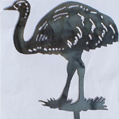 Emu garden stake