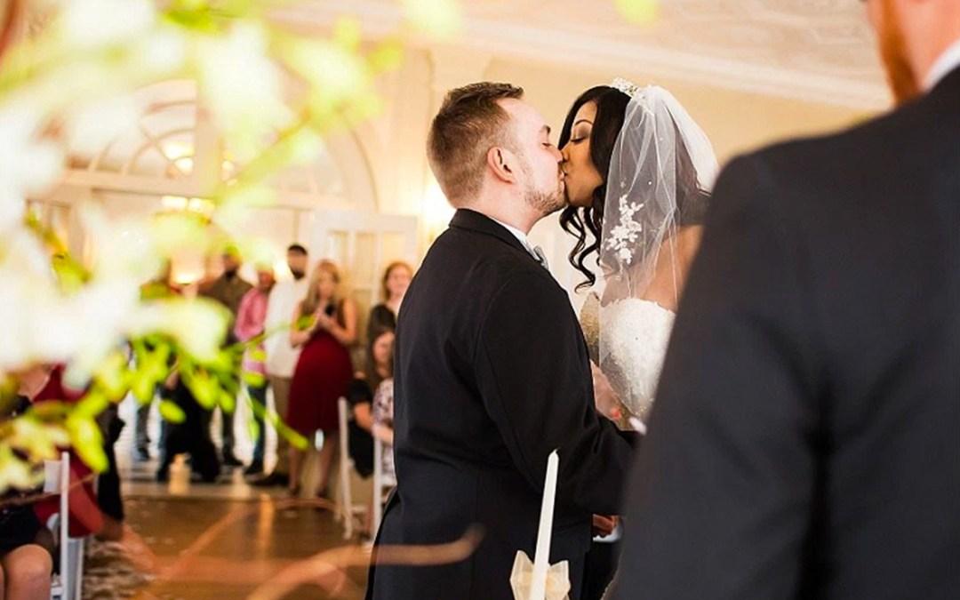 Shanice Ronnie Tulsa Garden Center Wedding Picturesque