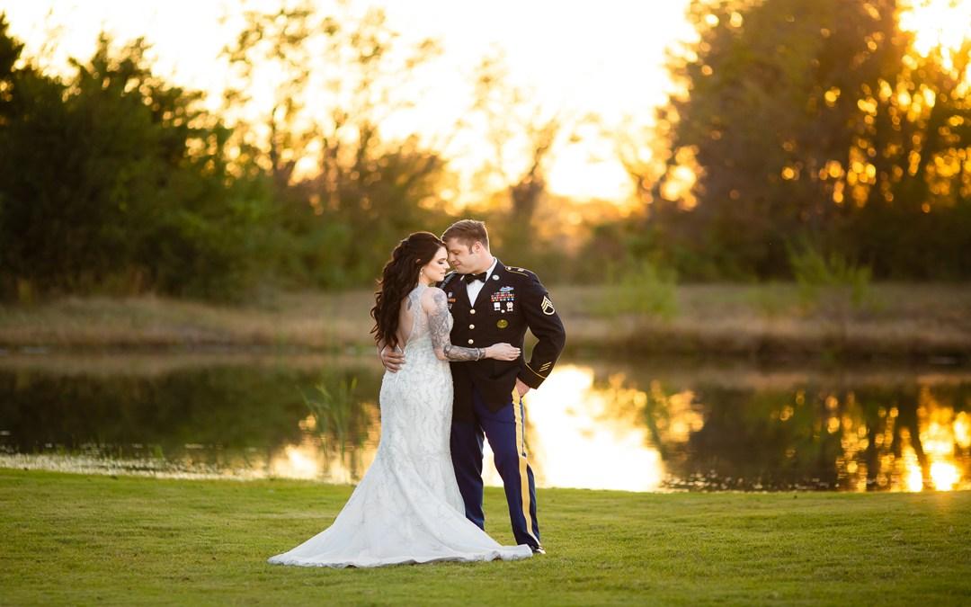 Tabitha + Kenny | Greenleaf Barn Wedding | Tulsa, Oklahoma