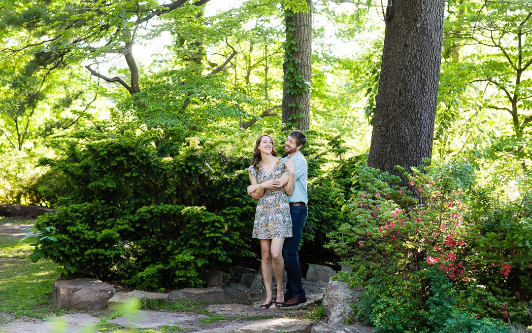 Kelsey + Jonathan | Woodward Park Engagement