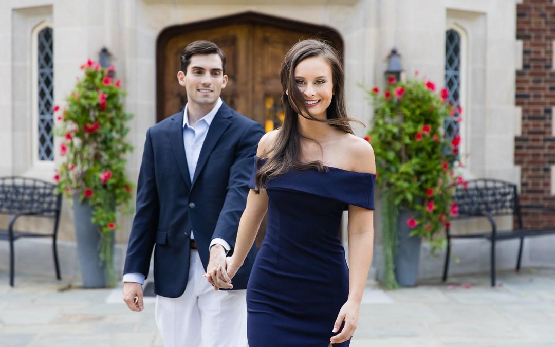 Lauren + Jerrod   Harwelden Mansion and Woodward Park Engagement Session Tulsa