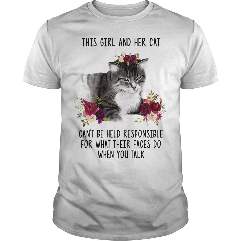 This girl and her cat shirts