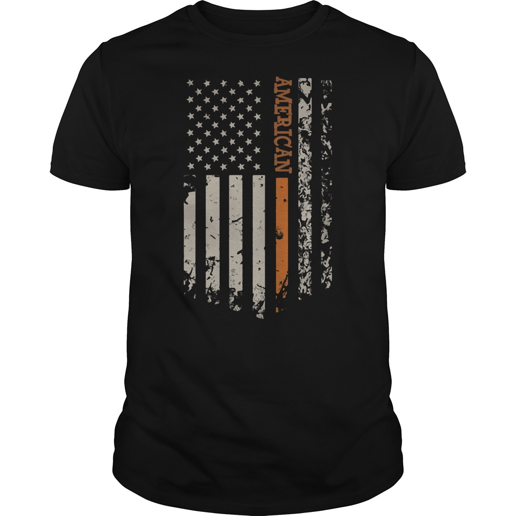 United States flag and American pride shirt