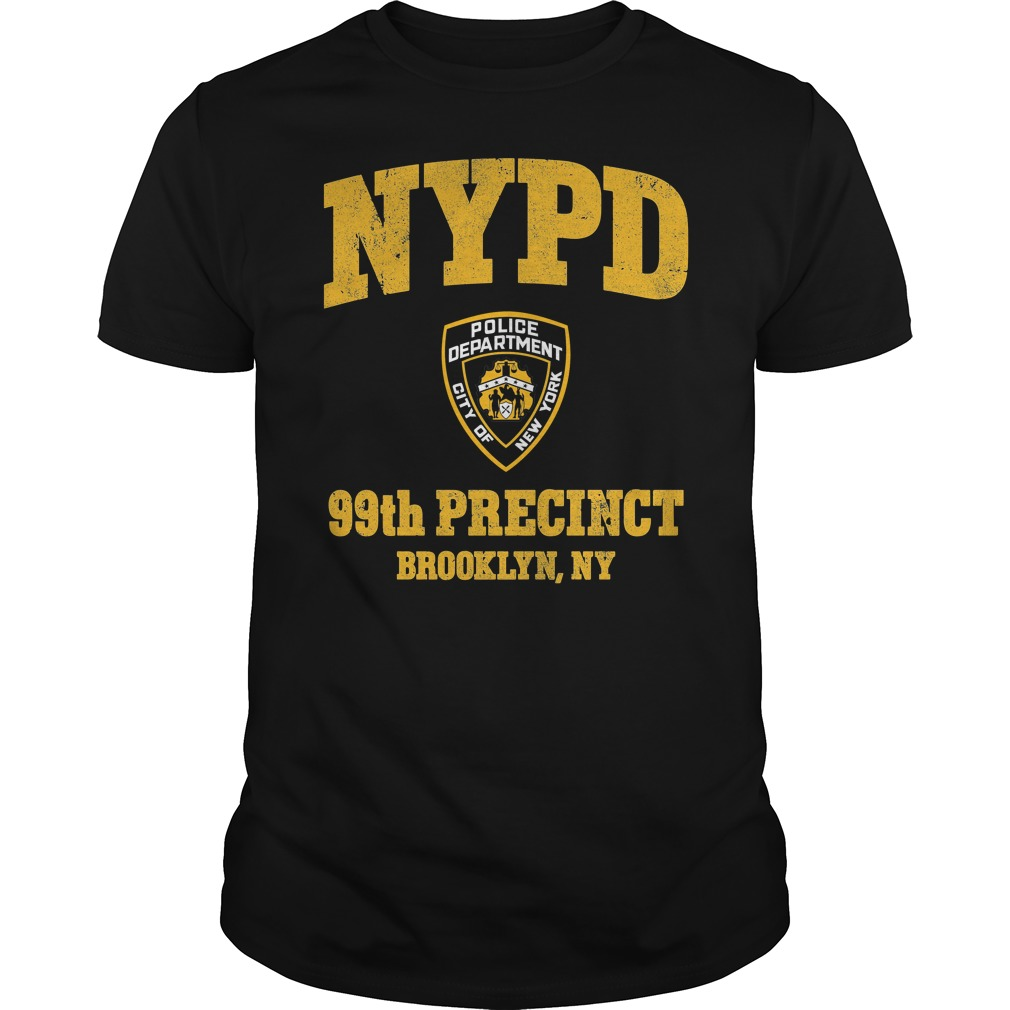 99th Precinct Brooklyn NY Police Department NYPD shirt