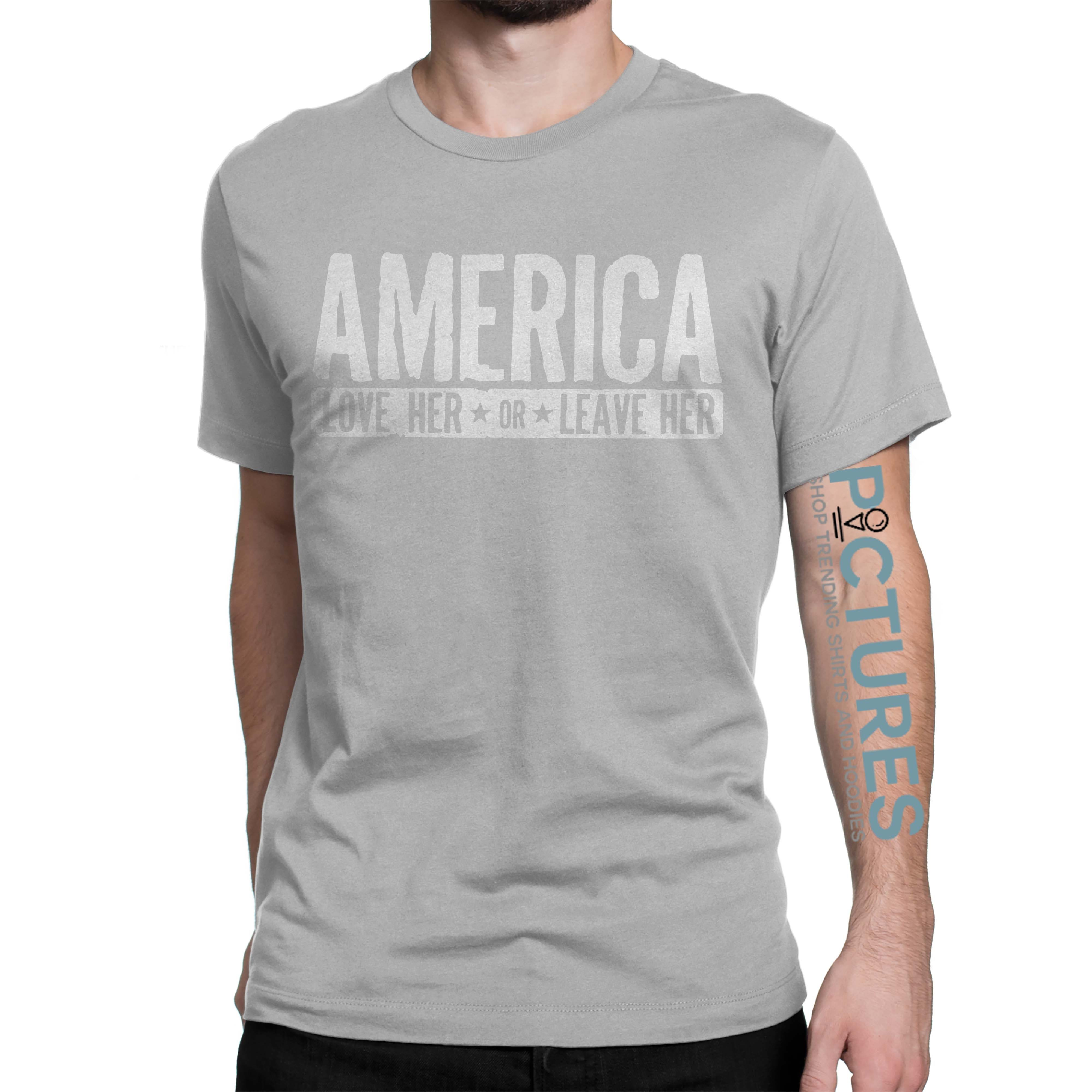 AMERICA Love her or leave her workout shirt