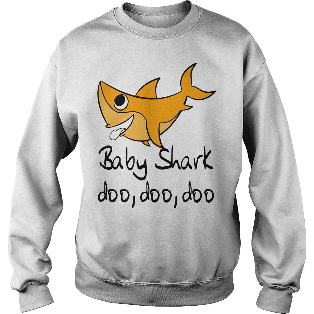 Baby shark doo doo doo baby shark Pinkfong family Sweater