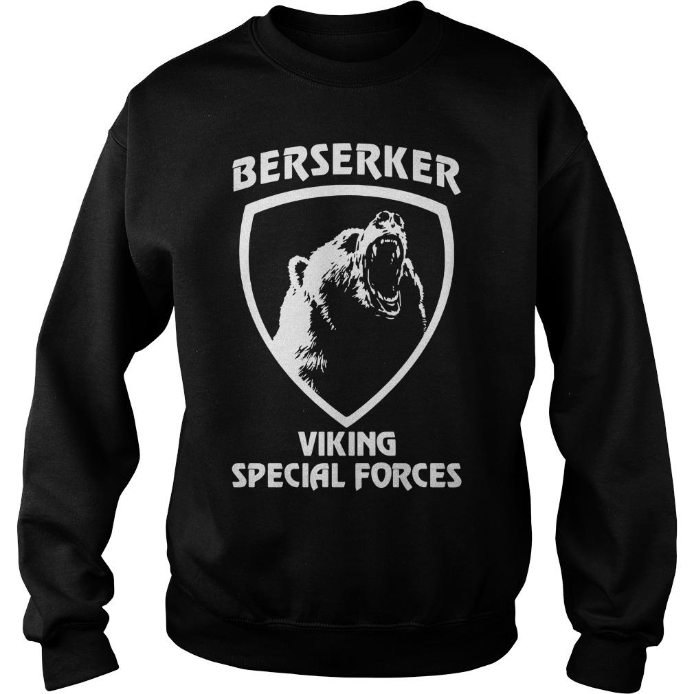 Black bear Berserker Viking Special forces Black bear Sweater