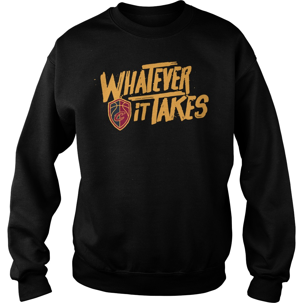 Cleveland Whatever it takes Sweater