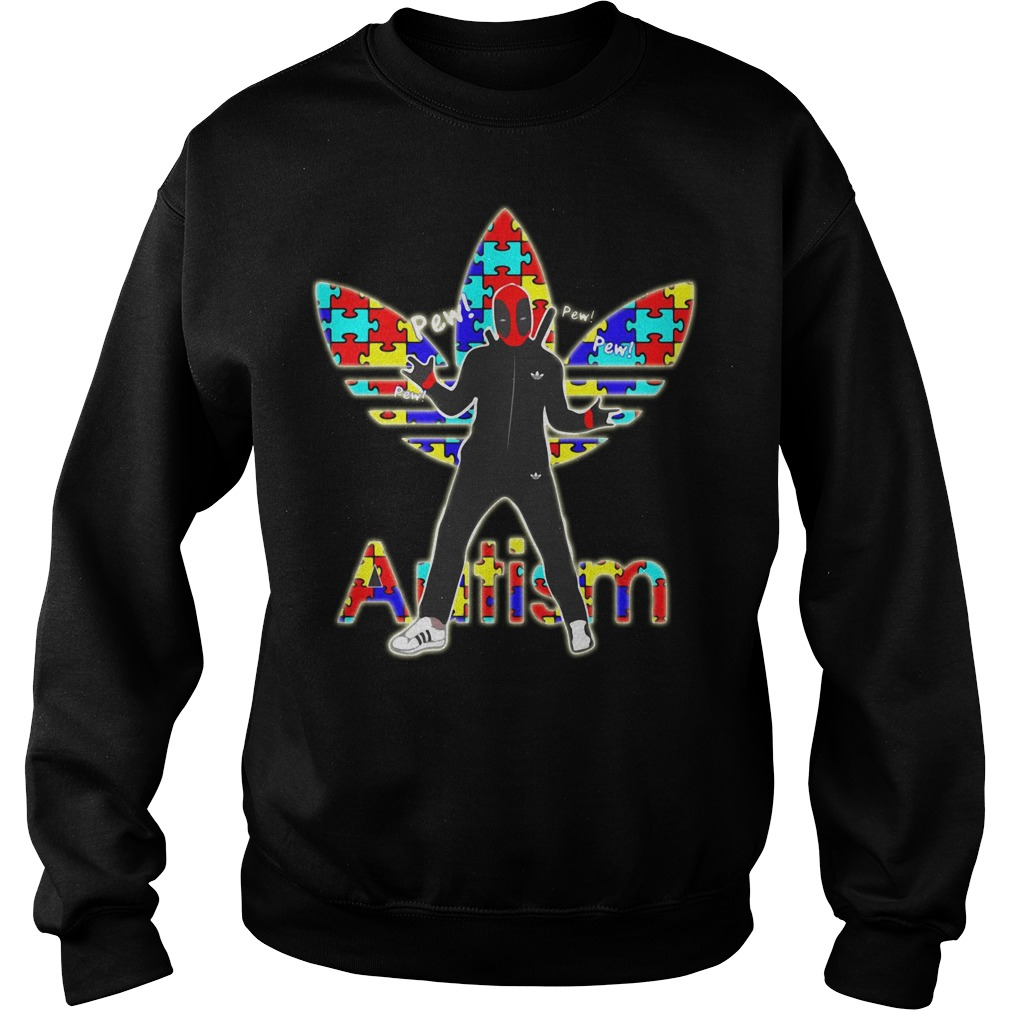 Deadpool hand sign Autism Sweater