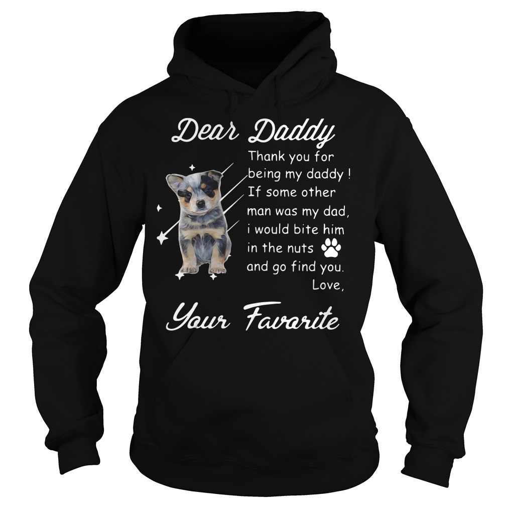 Dear daddy thank you for being my daddy Hoodie