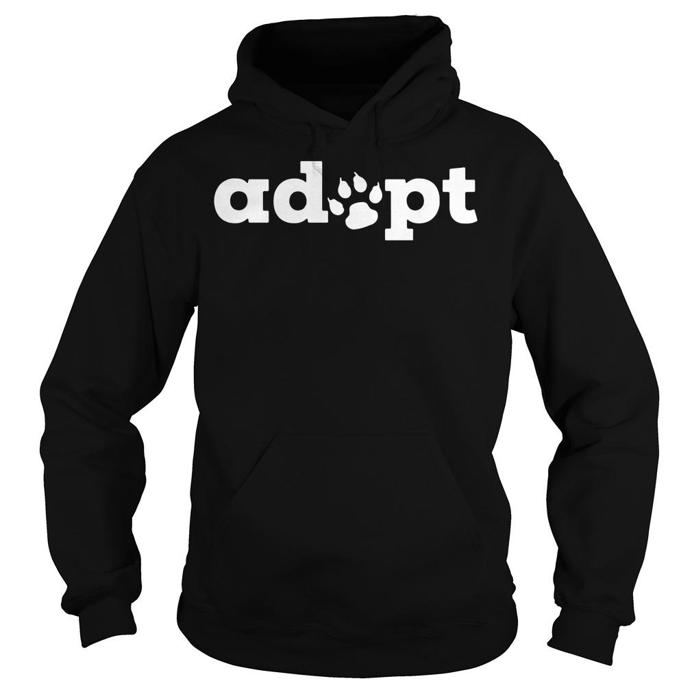 Dog adopt Hoodie