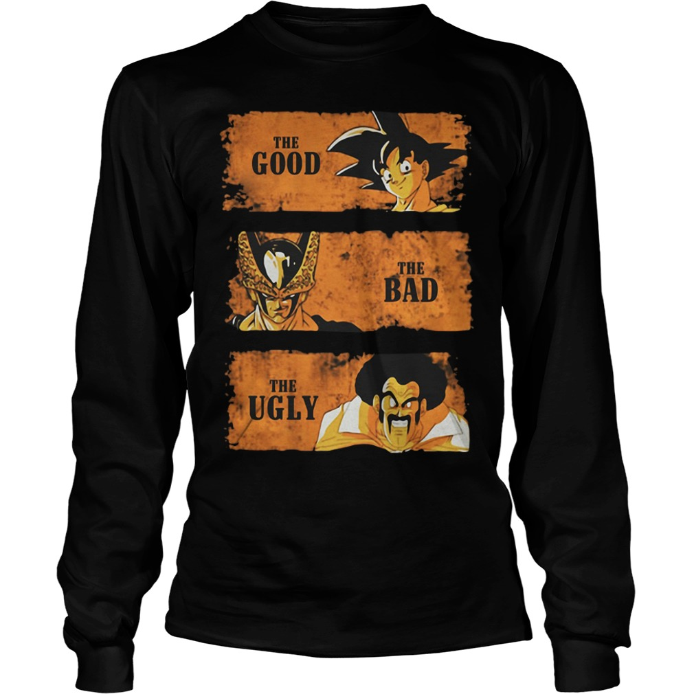 Dragon ball The good The bad The ugly Longsleeve