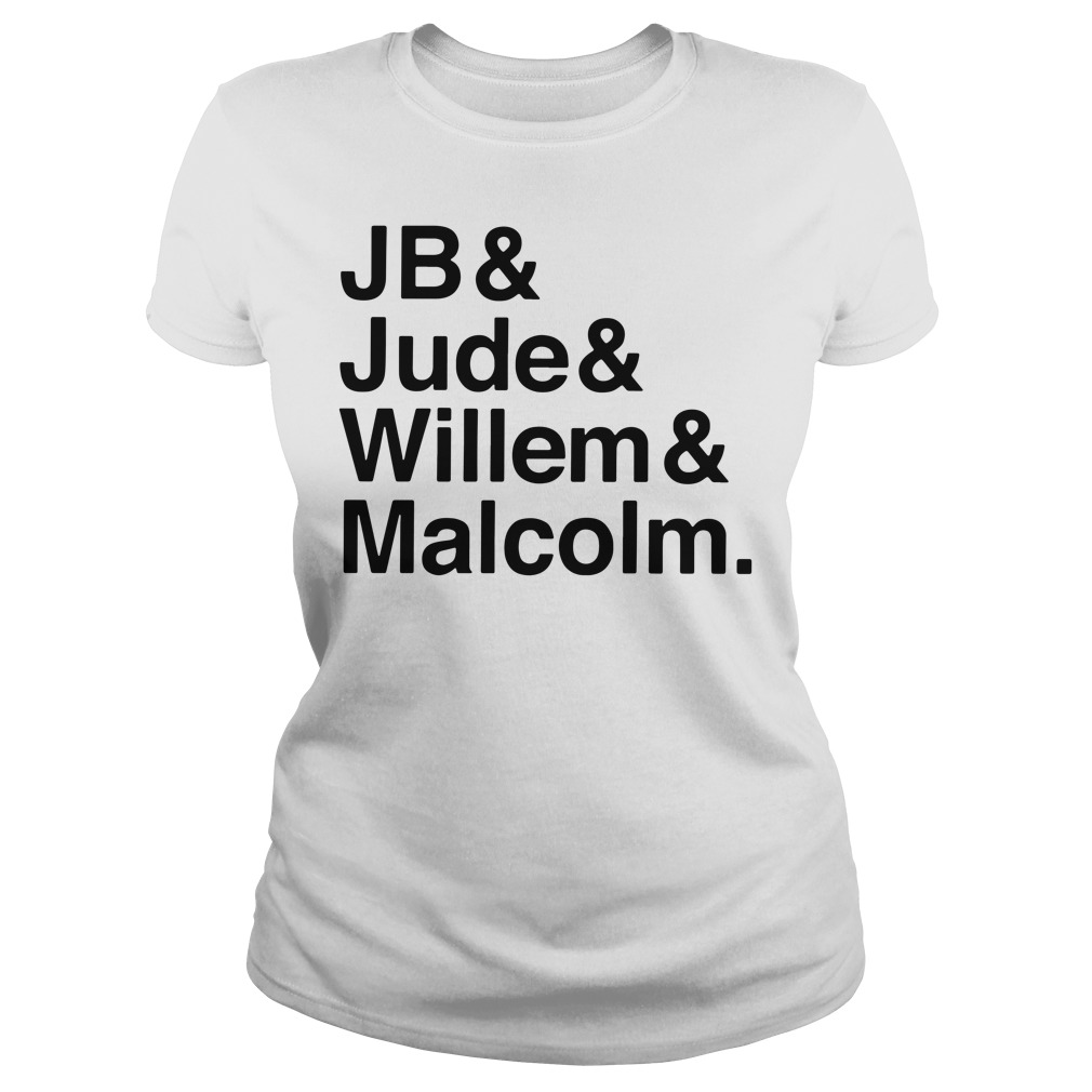 Jb Jude Willem Malcolm Queer Eye A little Life book Ladies tee