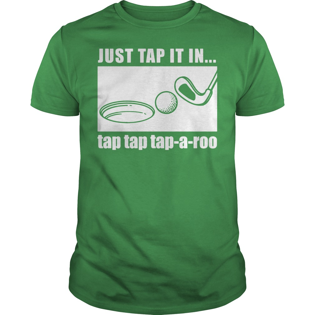 Just tap it in tap tap tap-a-roo Golf Guys tee