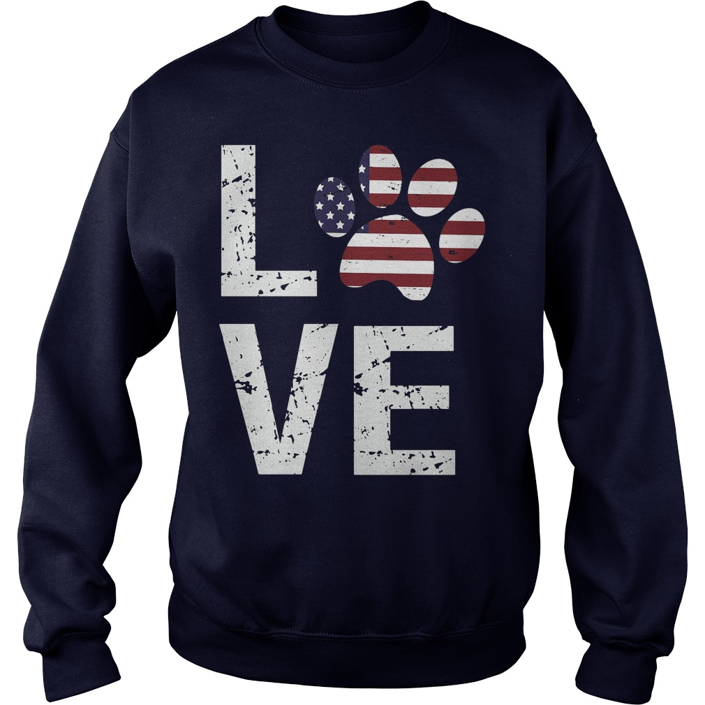 Love Paw USA Sweater