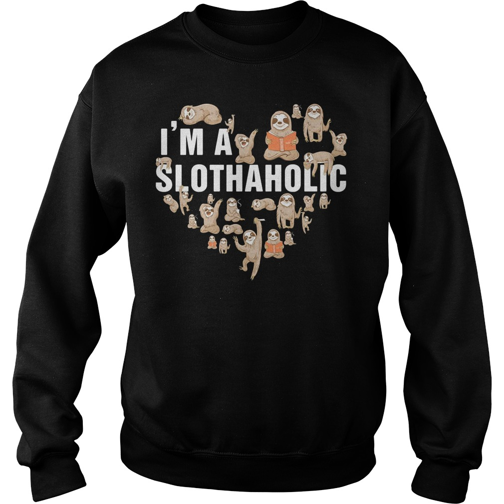 Official I'm a Sloth Aholic - Sloth Aholic Sweater