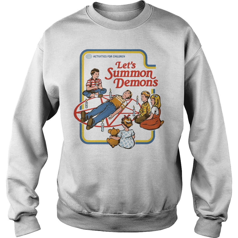 Official Let's Summon Demons Activities for children Sweater