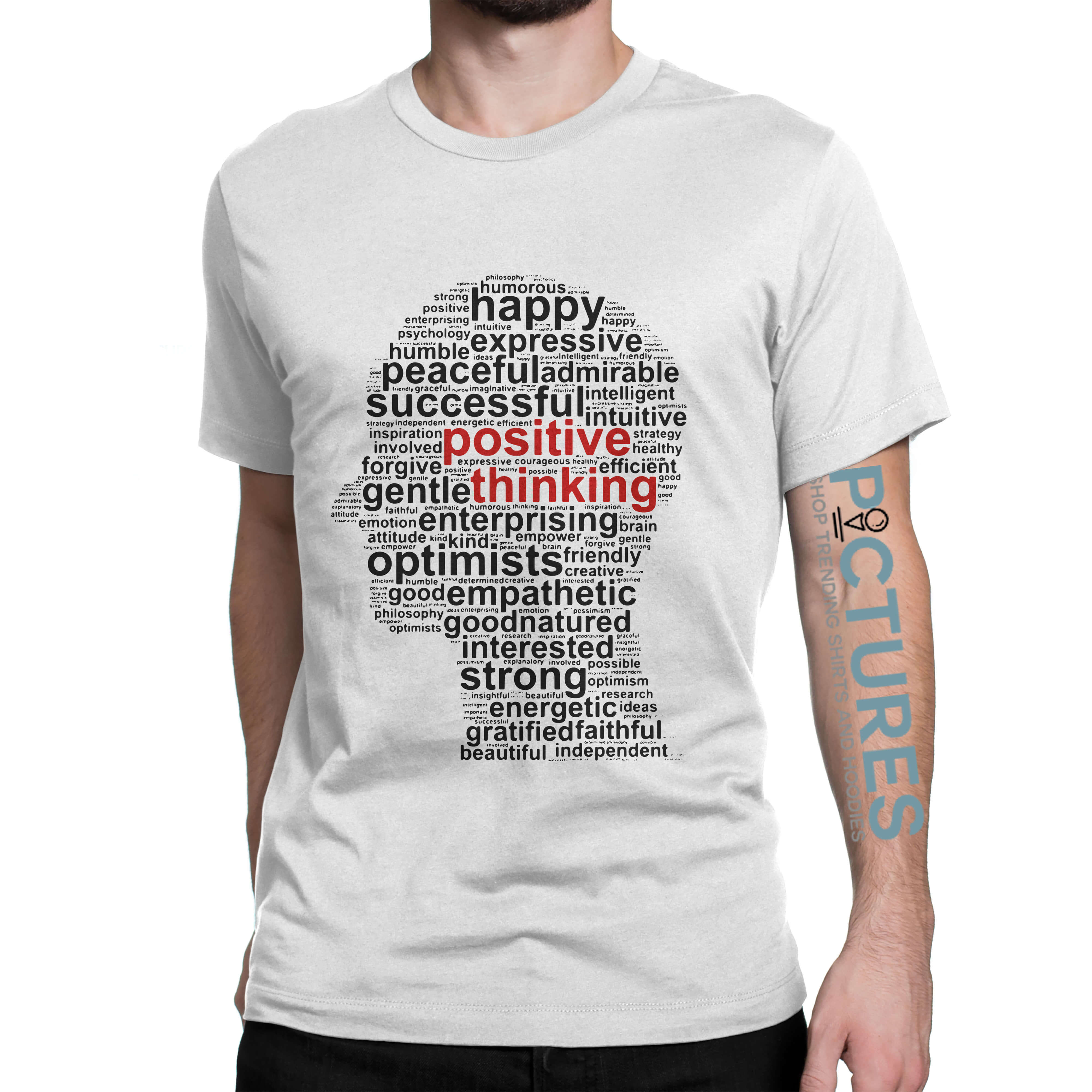 Official Positive thinking shirt