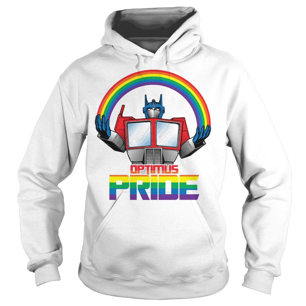 Optimus pride transformers LGBT pride Hoodie
