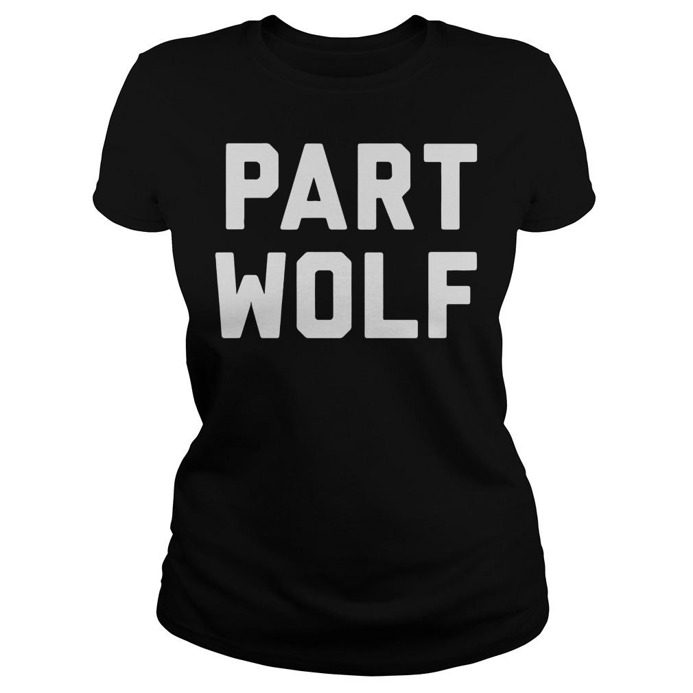 Part Wolf Ladies tee