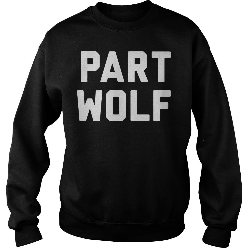 Part Wolf Sweater