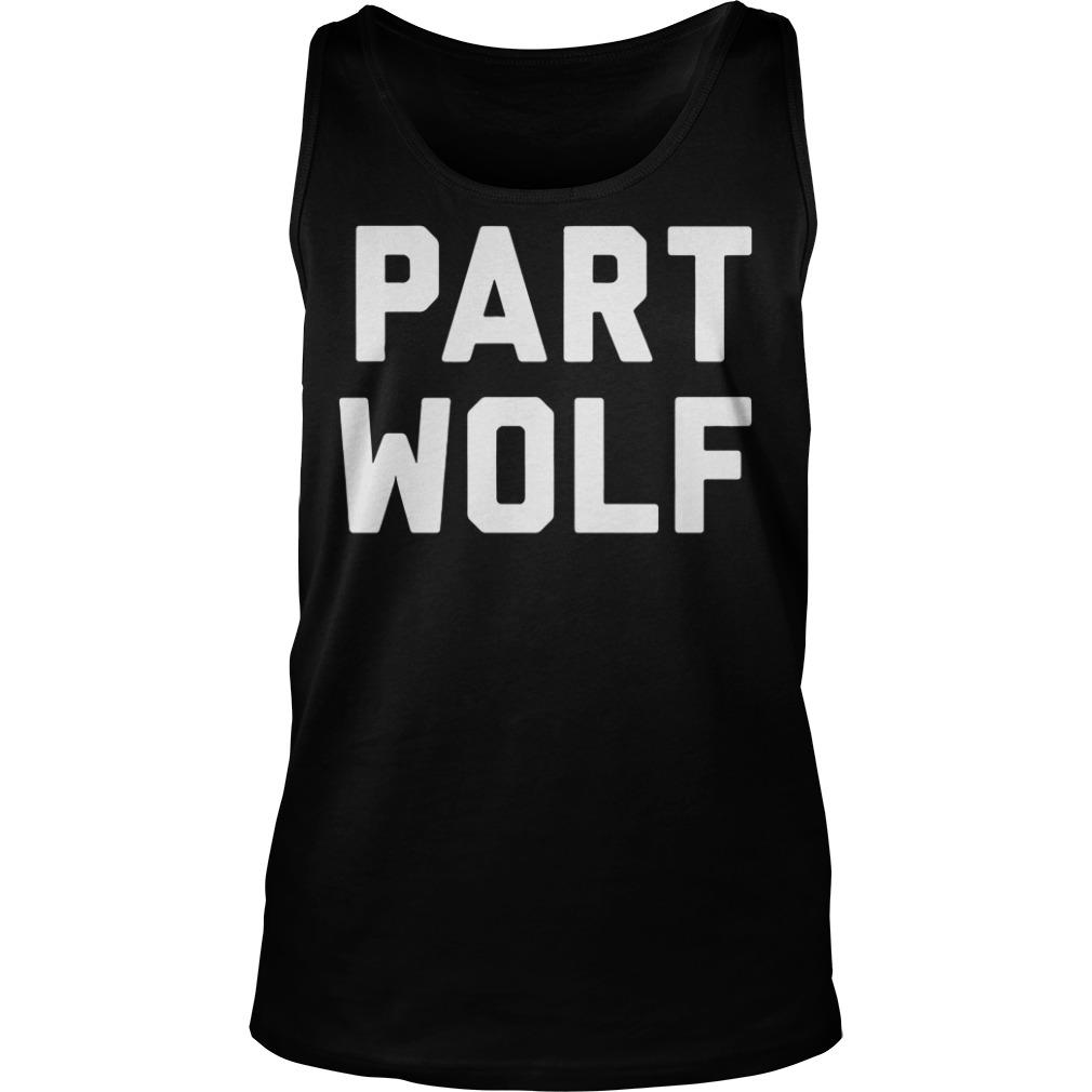 Part Wolf Tank top