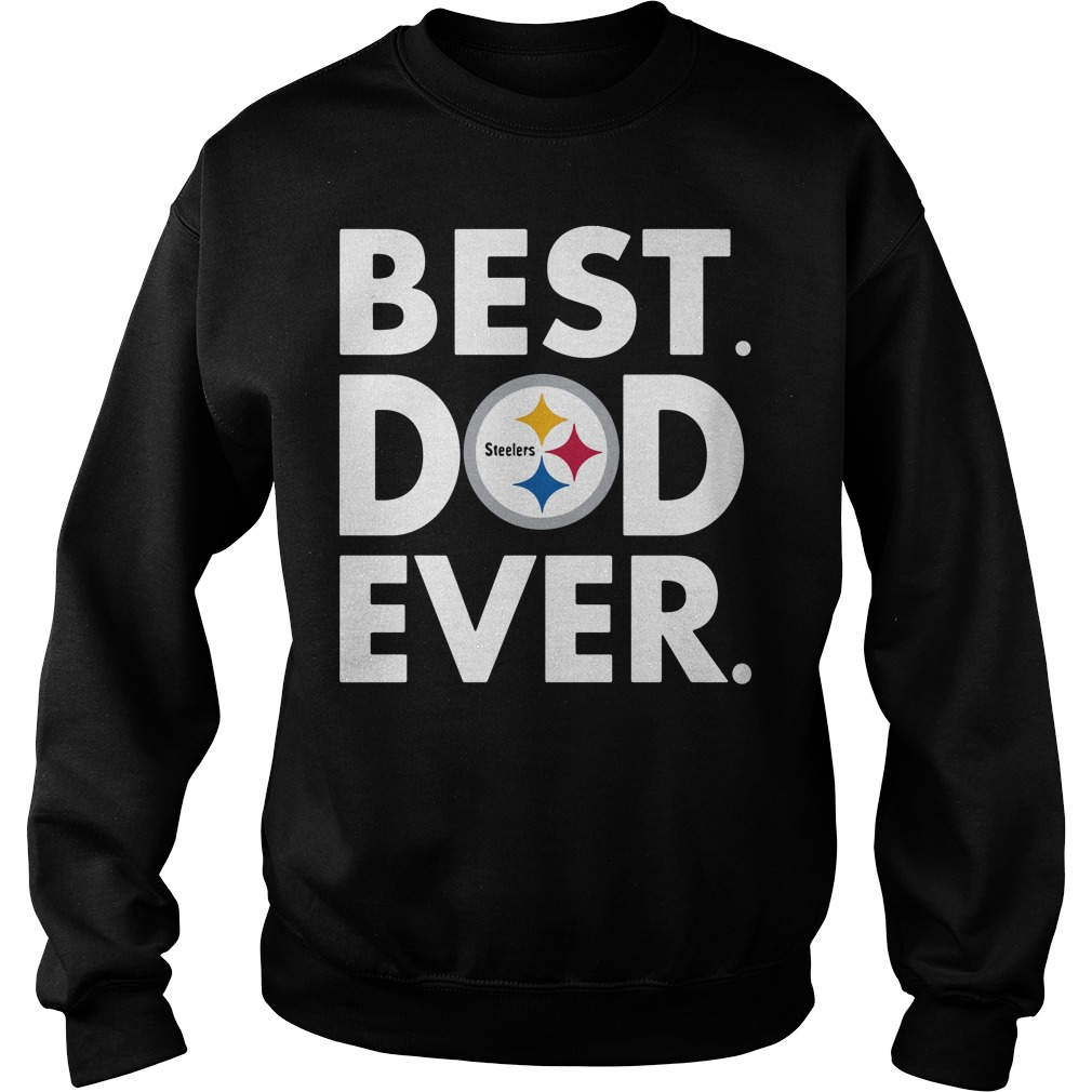Pittsburgh Steelers NFL Best Dad ever Sweater