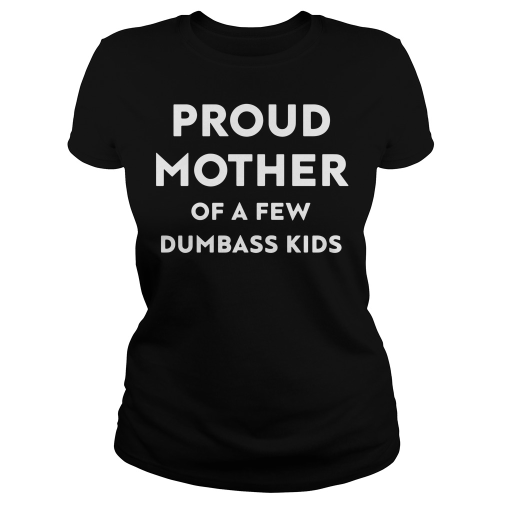 Proud mother of a few dumbass kids Ladies tee