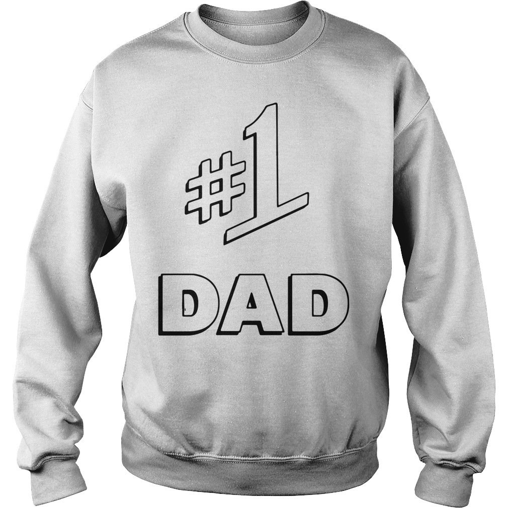 World's #1 Dad Best Dad Father's day Sweater