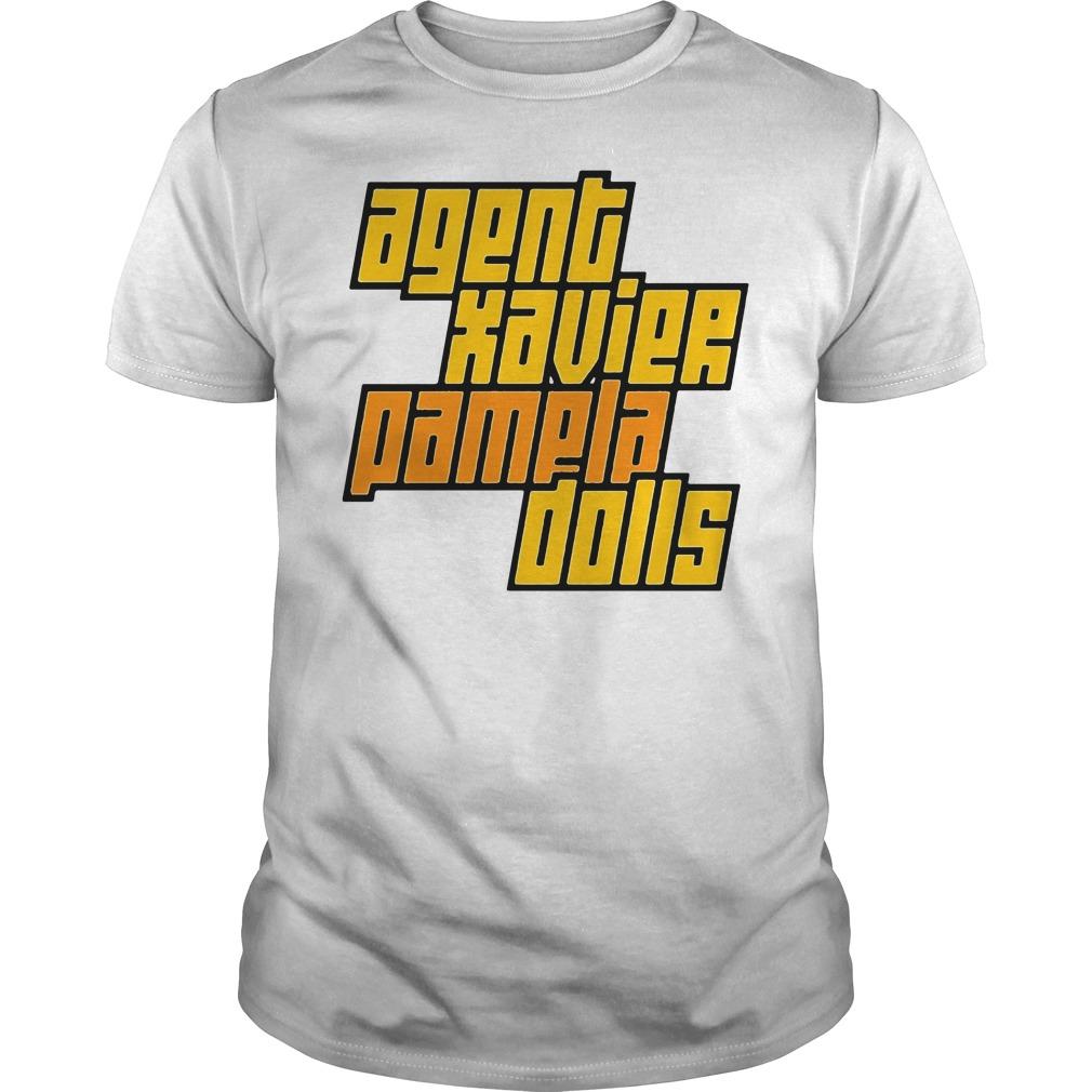 Agent Xavier Pamela Dolls Guys tee