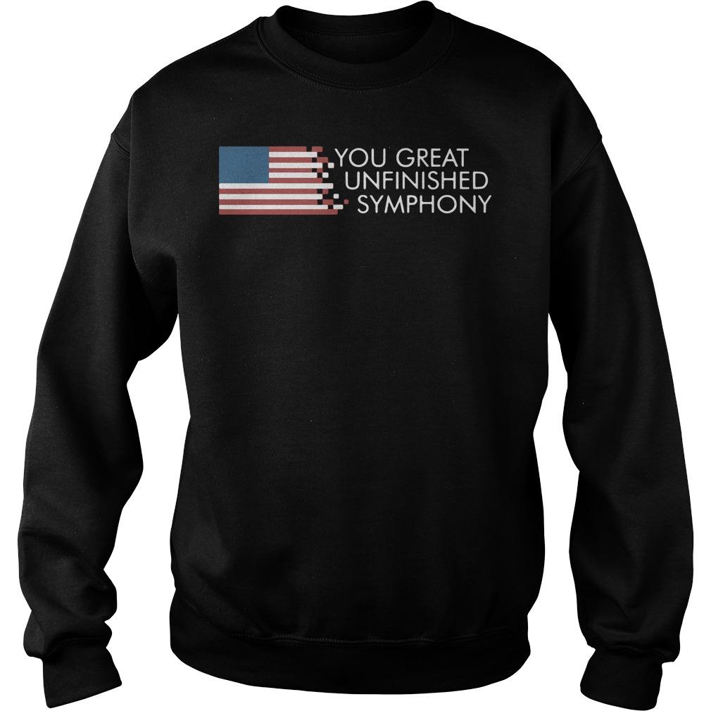 AmericaYou Great Unfinished Symphony Sweater