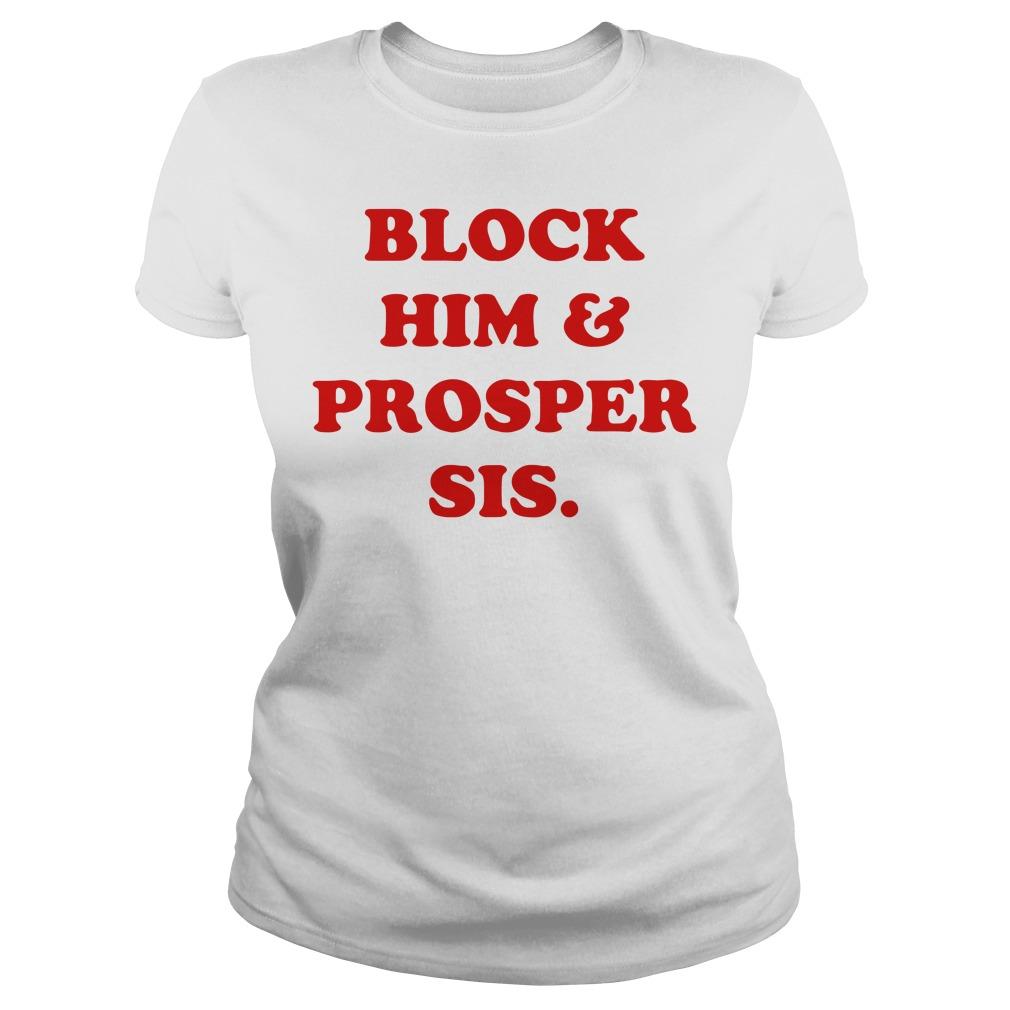 Block Him & Prosper Sis Ladies tee