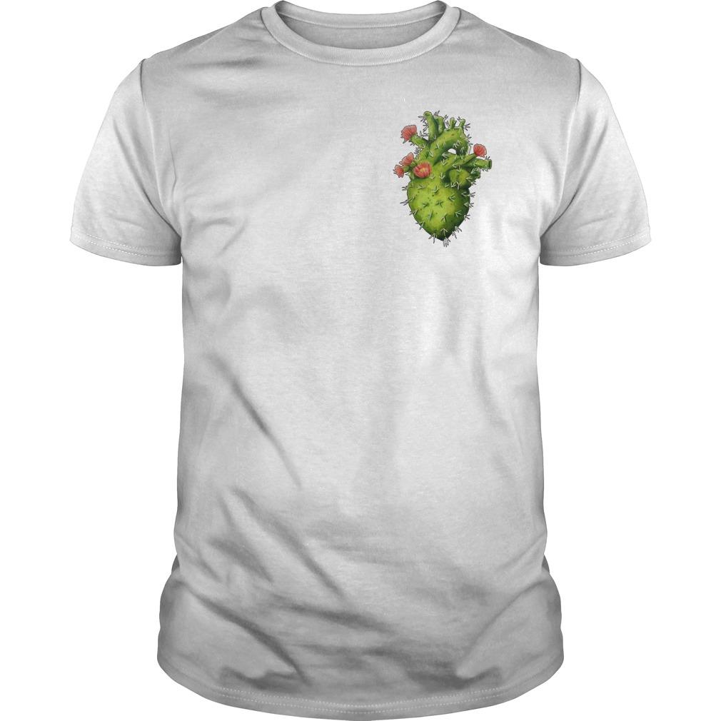Cactus Heart Guys tee