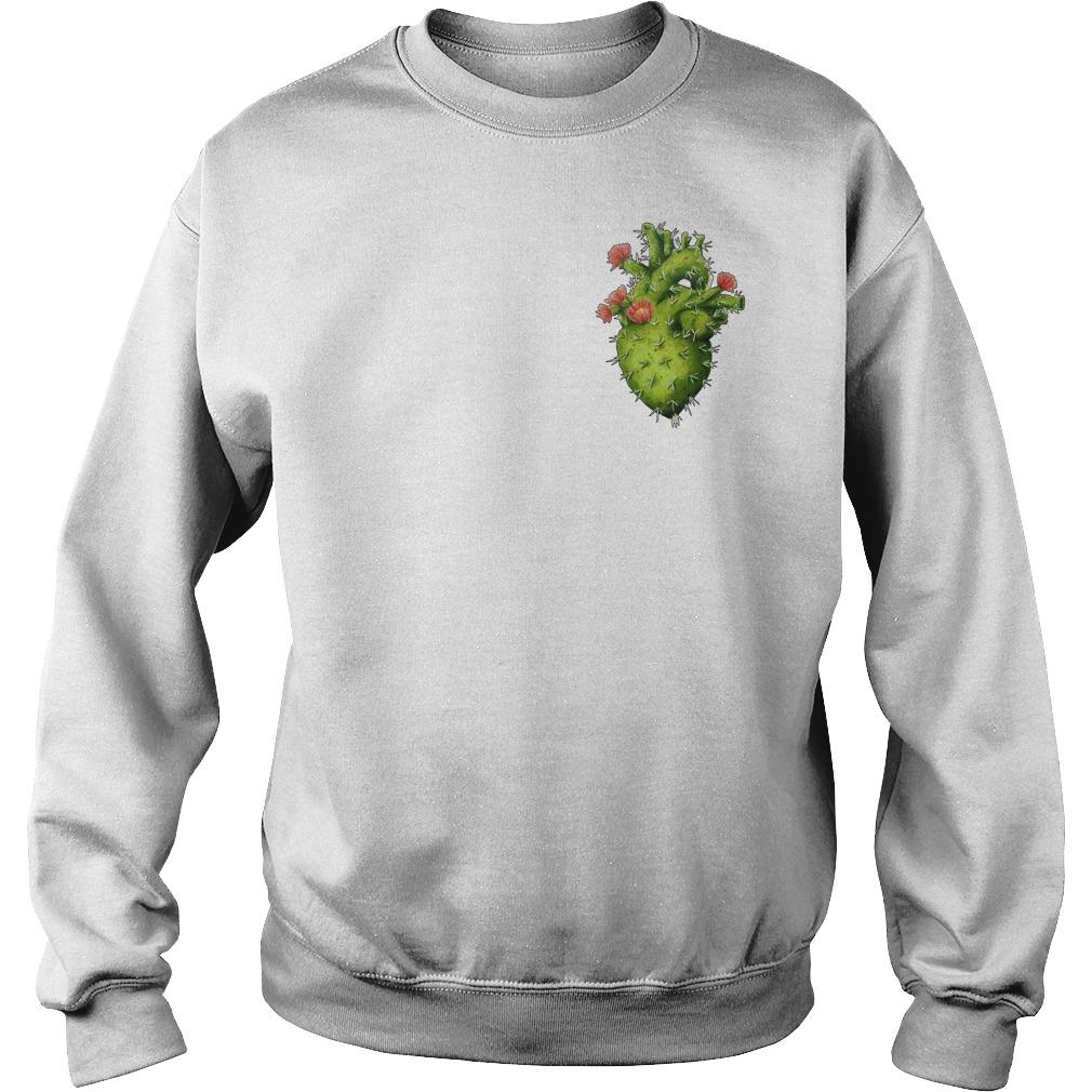 Cactus Heart Sweater