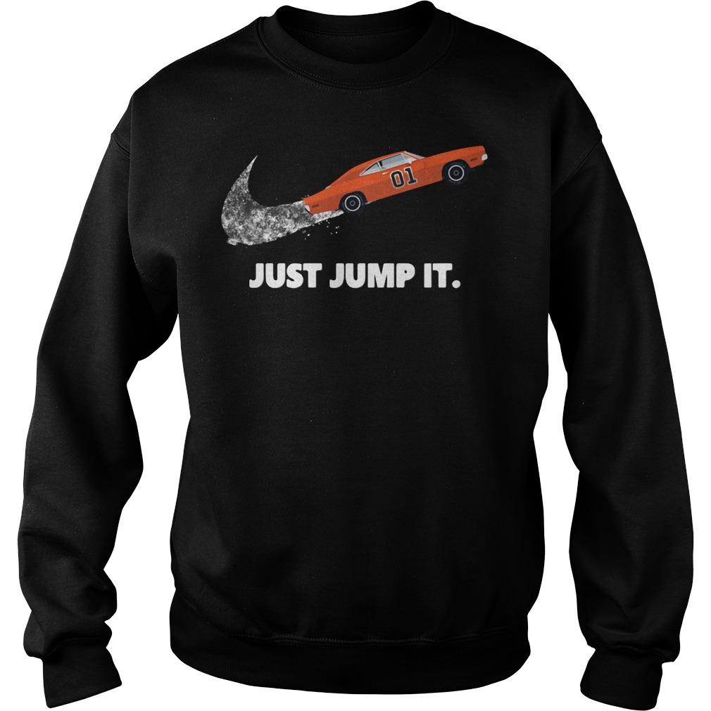 Car Just Jump It Sweater