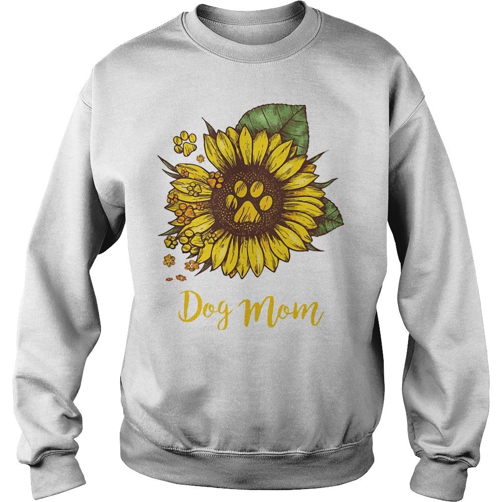 Dog Mom Sunflower Sweater