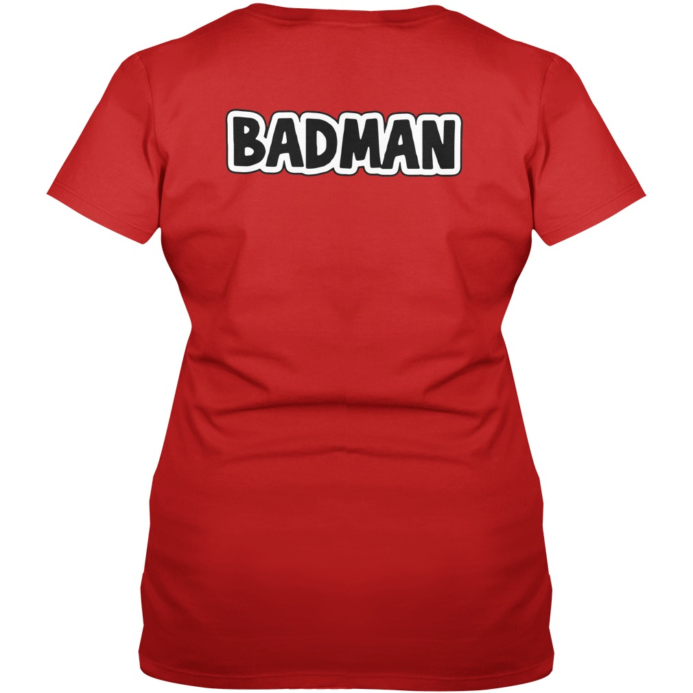 Dragon Ball Z Vegeta BadMan V-neck