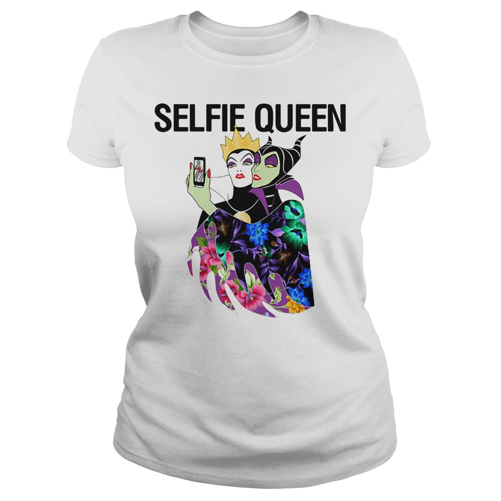 Evil Queen Selfie Ladies tee